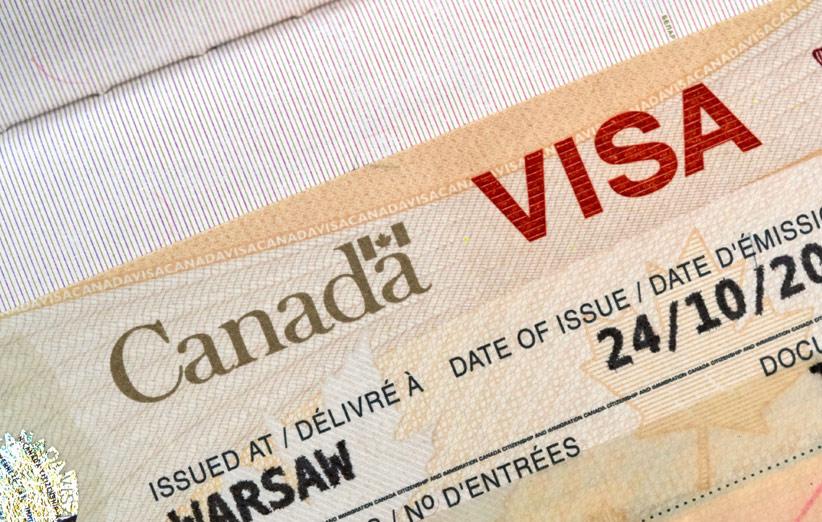 تصویر ویزای توریستی کانادا