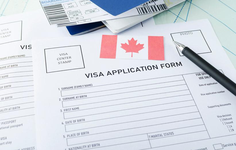 فرم درخواست ویزای کانادا