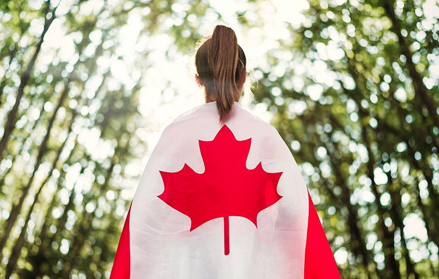 تصویر پرچم کانادا