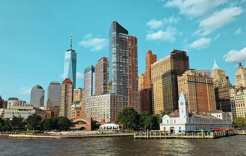 تصویری از شهر نیویورک آمریکا