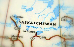 تصویر نقشه ساسکاچوان کانادا