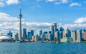 تصویری از شهر تورنتو کانادا