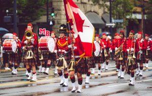 تصویر رژه روز ملی کانادا