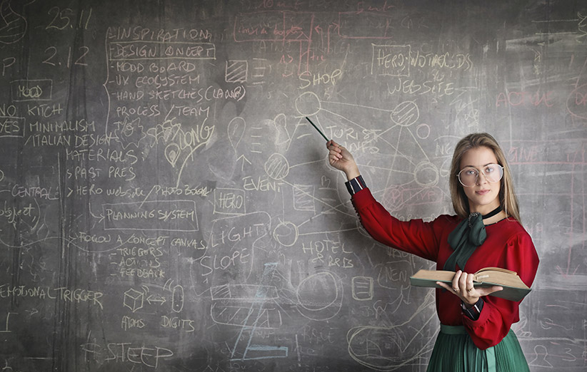 تصویر یک معلم