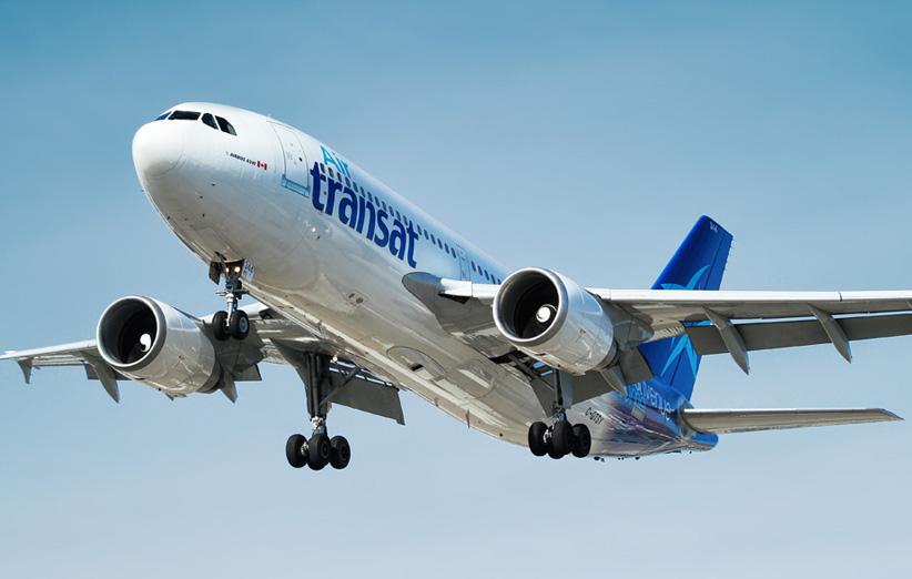 تصویر یک هواپیما