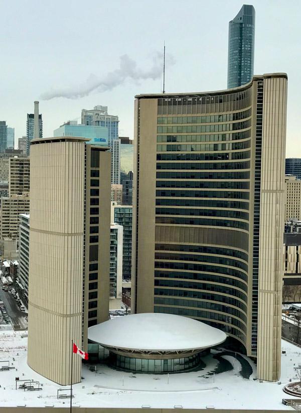 تصویر شهرداری تورنتو کانادا