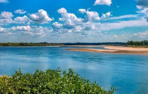 دریاچه در استان ساسکاچوان