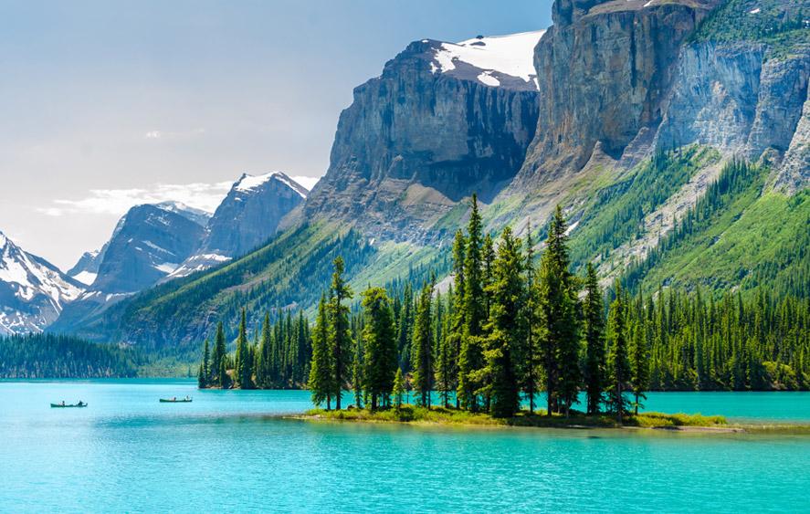 تصویری از طبیعت غرب کانادا
