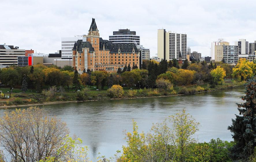 تصویر شهر ساسکاتون کانادا