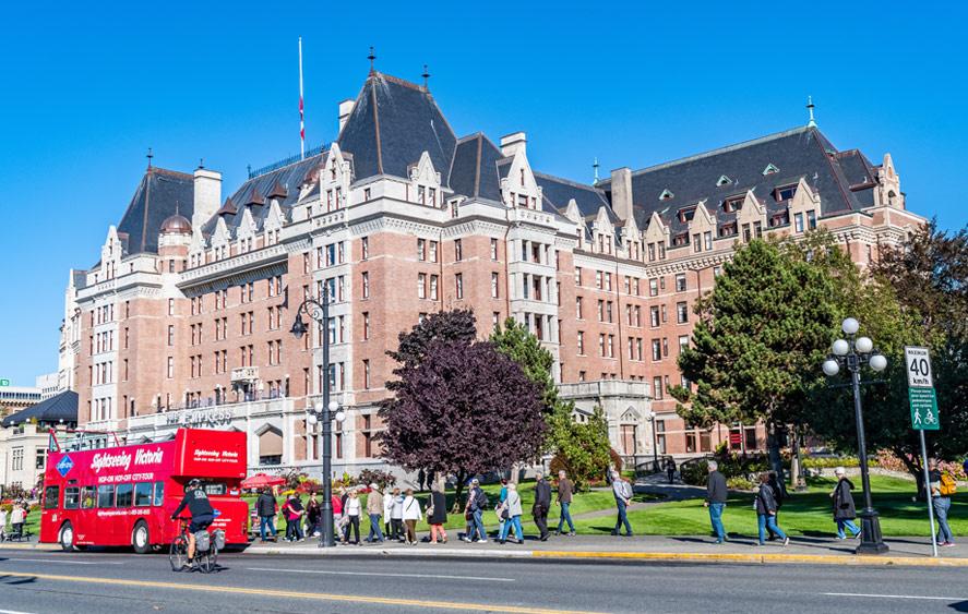 تصویر شهر ویکتوریا کانادا
