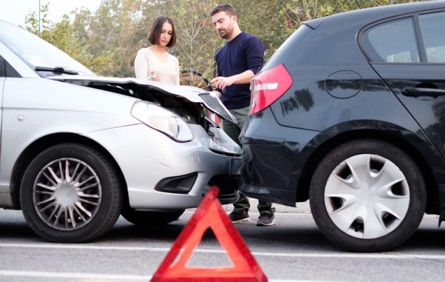 تصویر تصادف دو خودرو