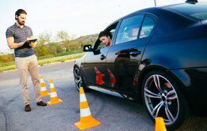 تصویر امتحان رانندگی