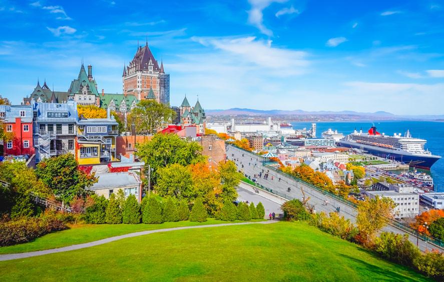 تصویر شهر کبک کانادا